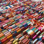 Aerial Photography Yangshan Deep Water Port Terminal